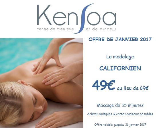 massage californien Montpellier